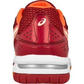 Zapatillas de voleibol Asics Gel-Rocket 7 W B455N-0601 naranja multicolor 3