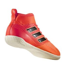 Zapatos de interior adidas Ace Tango 17.3 In Jr CG3714 rojo naranja rojo 1