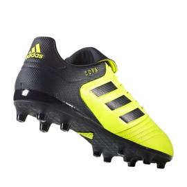 Calzado de fútbol adidas Copa 17.3 Fg M S77143 multicolor negro amarillo 1
