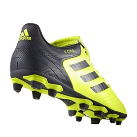 Calzado de fútbol adidas Copa 17.4 FxG M S77162 negro amarillo negro 1