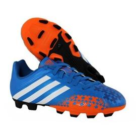 Zapatillas de fútbol Adidas Predito Lz Fg Junior Q21735 azul azul 2