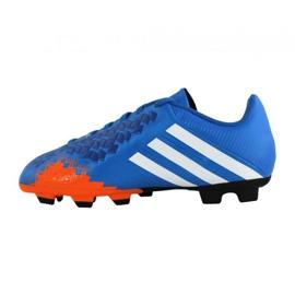 Zapatillas de fútbol Adidas Predito Lz Fg Junior Q21735 azul azul 3