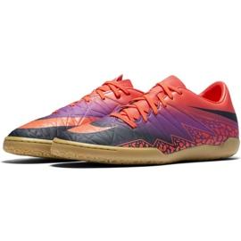 Zapatos de interior Nike Hypervenom Phelon Ii Ic M 749898-845 naranja naranja morado 2