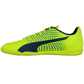 Zapatos de interior Puma Adreno Iii It M 10404709 amarillo verde 1