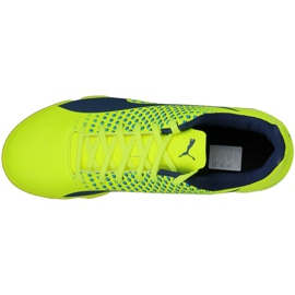 Zapatos de interior Puma Adreno Iii It M 10404709 amarillo verde 3