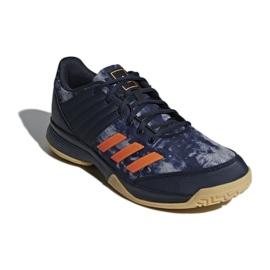 Adidas Ligra 5 M BB6124 zapatillas de voleibol azul marino marina 1