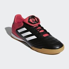 Zapatos de interior adidas Copa Tango 18.3 In M CP9017 negro negro rojo 3
