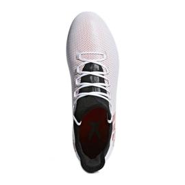 Zapatillas de fútbol adidas X 17.2 Fg M CP9187 blanco rojo multicolor 3