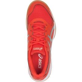 Zapatillas de voleibol Asics Gel Rocket 8 M B706Y-0693 multicolor rosa 1