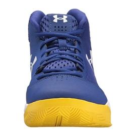 Zapatillas de baloncesto Under Armour Jet Mid M 3020224-500 azul azul 1