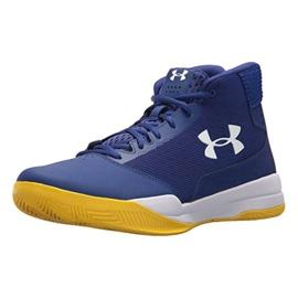 Zapatillas de baloncesto Under Armour Jet Mid M 3020224-500 azul azul 2