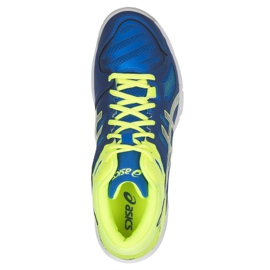 Zapatillas de voleibol Asics Gel Beyond 5 Mt M B600N-400 azul multicolor 2