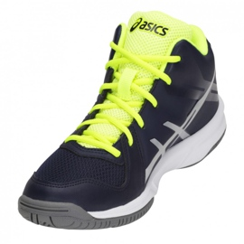 Zapatillas de voleibol Asics Gel Tactic Mt Gs Jr C732Y-400-400 marina azul marino 2