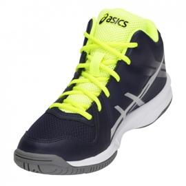 Zapatillas de voleibol Asics Gel Tactic Mt Gs Jr C732Y-400-400 marina multicolor 2