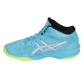 Zapatillas de voleibol Asics Gel-Volley Elite Ff Mt M B750N-400 azul multicolor 1