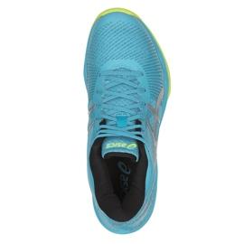 Zapatillas de voleibol Asics Gel-Volley Elite Ff Mt M B750N-400 azul multicolor 2