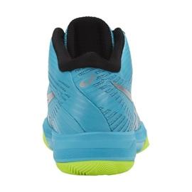 Zapatillas de voleibol Asics Gel-Volley Elite Ff Mt M B750N-400 azul multicolor 3