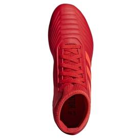 Botas de fútbol adidas Predator 19.3 Jr D98005 rojo rojo 2