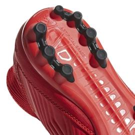 Botas de fútbol adidas Predator 19.3 Jr D98005 rojo rojo 3