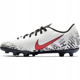 Mercurial Nike Neymar Vapor 12 Club Fg Jr. AV4762-170 Calzado de fútbol blanco multicolor 2