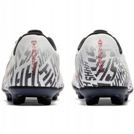Mercurial Nike Neymar Vapor 12 Club Fg Jr. AV4762-170 Calzado de fútbol blanco multicolor 4