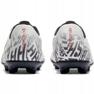 Mercurial Nike Neymar Vapor 12 Club Fg Jr. AV4762-170 Calzado de fútbol blanco blanco 4