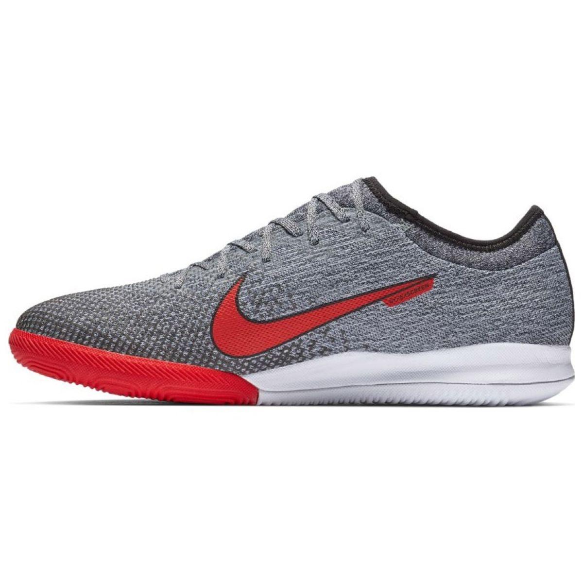 Nike Mercurial Vapor 12 zapatos de interior Neymar Pro Ic M AO4496 170 gris gris plata