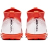Botas de fútbol Nike Mercurial Superfly X 6 Academy Tf Jr AH7344-801 blanco naranja naranja 4