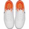 Calzado de fútbol Nike Tiempo Legend 7 Academy Mg Jr AO2291-118 blanco naranja blanco 2