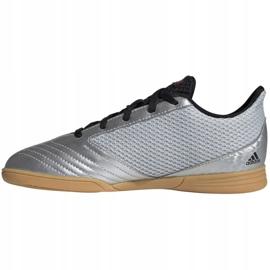 Zapatos de interior adidas Predator 19.1 en Sala Jr G25829 gris multicolor 1