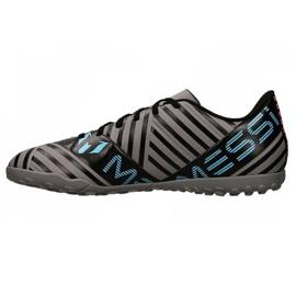 Botas de fútbol adidas Nemeziz Messi Tango Tf M CP9071 negro, azul, gris / plateado negro 1