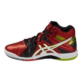 Zapatillas de voleibol Asics Gel-Cyber Sensei 6 Mt M B503Y-2101 rojo multicolor 1