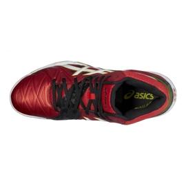 Zapatillas de voleibol Asics Gel-Cyber Sensei 6 Mt M B503Y-2101 rojo multicolor 3