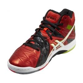 Zapatillas de voleibol Asics Gel-Cyber Sensei 6 Mt M B503Y-2101 rojo multicolor 5