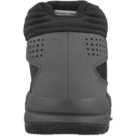 Zapatillas de baloncesto Under Armour Jet 2017 Jr 1296009-001 negro negro 2