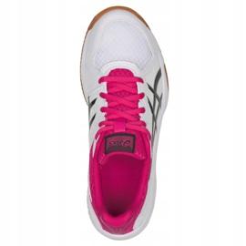 Zapatillas de voleibol Asics Upcourt 3 W 1072A012-101 blanco multicolor 2