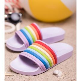 Sweet Shoes Zapatillas de goma de colores 1