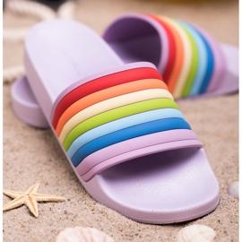 Sweet Shoes Zapatillas de goma de colores 3