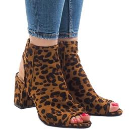 Sandalias leopardo con C-7226 superior 1