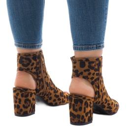 Sandalias leopardo con C-7226 superior 3