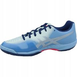 Zapatillas de squash Asics Gel-Blade 6 W R753N-400 azul azul 1
