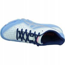 Zapatillas de squash Asics Gel-Blade 6 W R753N-400 azul azul 2