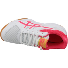 Zapatillas de voleibol Asics Upcourt 3 Gs Jr 1074A005-104 blanco blanco 2