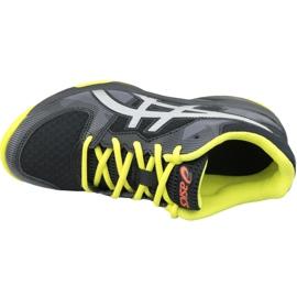 Zapatillas de voleibol Asics Gel-Tactic Gs Jr 1074A014-001 negro negro 2