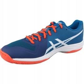 Zapatillas de voleibol Asics Gel-Tactic M B702N-401 azul marina 1