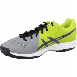 Zapatillas de voleibol Asics Gel-Tactic M B702N-9695 gris gris / plata 1