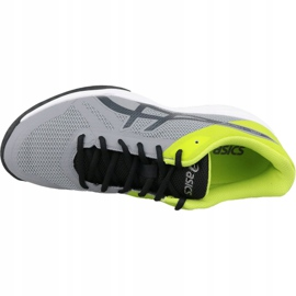 Zapatillas de voleibol Asics Gel-Tactic M B702N-9695 gris gris / plata 2