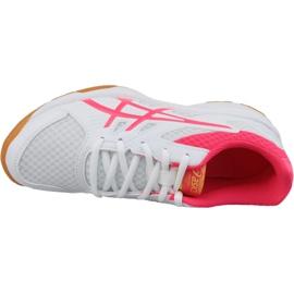Zapatillas de voleibol Asics Upcourt 3 W 1072A012-104 blanco blanco 2