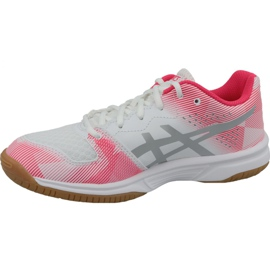 Zapatillas de voleibol Asics Gel-Tactic Gs Jr 1074A014-101 gris blanco 1