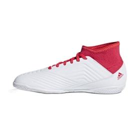 Zapatillas de interior Adidas Predator Tango 18.3 en Jr CP9073 blanco rojo blanco 1